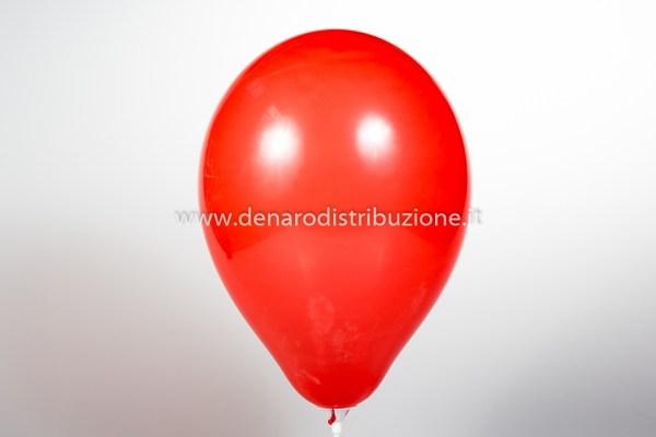 """Palloncino Tondo Rosso Scuro Pastello 12""""/30 cm. (100 Pezzi)-0"""