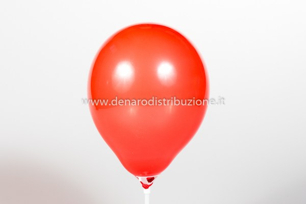 """Palloncino Tondo Rosso Scuro Pastello 5""""/13 cm. (100 Pezzi)-0"""