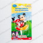 Mickey Mouse Candeline Compleanno numero 3-0