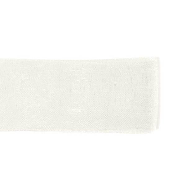 Nastro Organza Bianco 20 mm-0