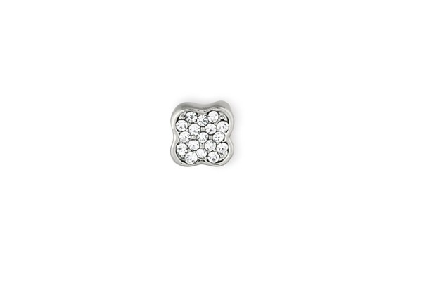 Ciondoli Charme fiore con brillantini (12 pz)-0