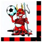 Tovaglioli Milan   Forza Milan (20 PZ)-0