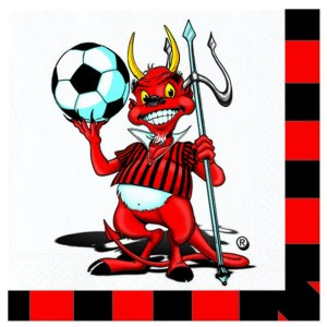 Tovaglioli Milan | Forza Milan (20 PZ)-0
