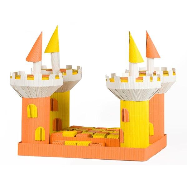 Castello Onda 4 TORRI Arancio/Giallo-0