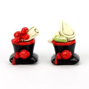 Bomboniera Cappello Laurea 4 cm (12 pezzi assortiti) STOCK-0