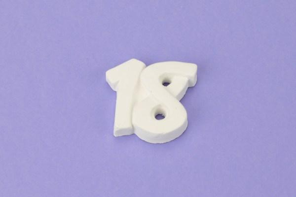 Gessetto Numero 18 (6 pezzi)-0