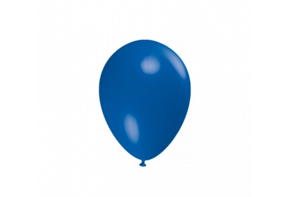"""Palloncino Tondo Blu scuro Pastello 5""""/13 cm. (100 Pezzi)-0"""