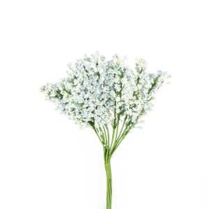 fiori artificiali per bomboniere celeste