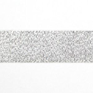 NASTRO TAFFETA' LAME' 25 MM X 50 M|ARGENTO-0