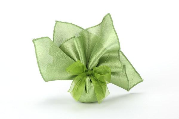 Fazzoletto Shante Seta Verde STOCK-0