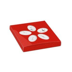 Scatola Rossa per 5 confetti Laurea (10 pezzi)-0