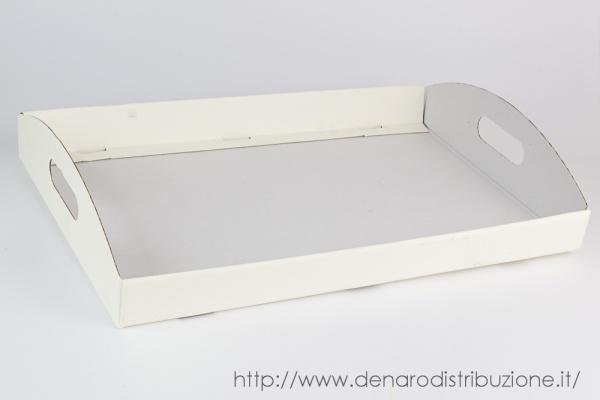 Cesto Seta Avorio 43,5x29x4,5 cm (10 PZ)-0