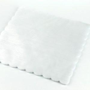 Velo di Fata quadrato Bianco 23X23-0