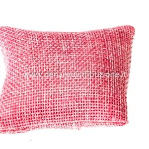 Sacchetto cuscino juta Rosa (10 pz)-0