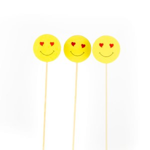SMILE IN LEGNO GIALLO (12 PEZZI)-0