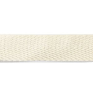 nastro bomboniera cotone avorio 15 mm