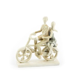 bomboniera coppia bici