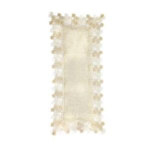 tovaglia macramè rettangolare 40 x 90 cm