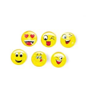 bomboniera magnete piccolo smile giallo