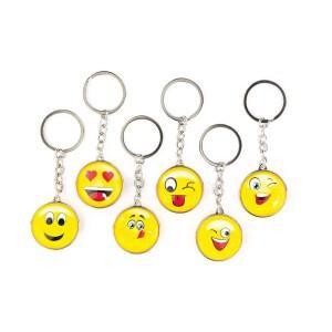 portachiavi smile giallo assortiti