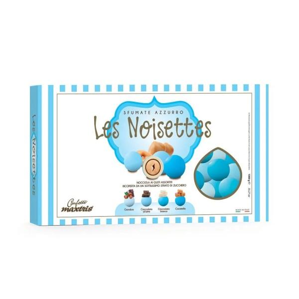 Confetti maxtris cioconocciola sfumato azzurro