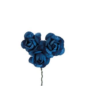 Fiore decorativo bomboniera rosa blu
