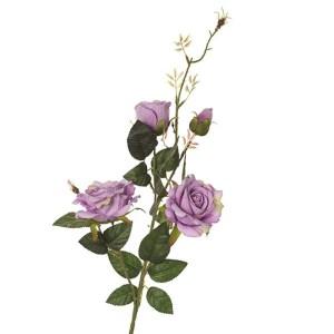 Fiore finto ramo rosa lavander