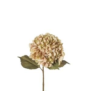 fiore artificiale ortensia verde 84 cm