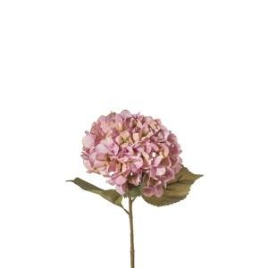 fiore artificiale ortensia rosa 84 cm