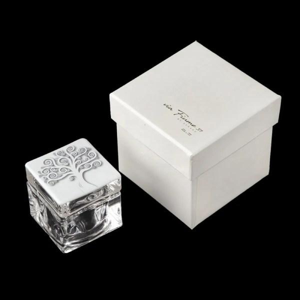 Scatolina Albero Della Vita Bianco Con Box-0