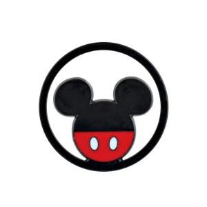 Applicazione Bomboniera Tondo Mickey Rosso/Nero (12Pz).-0