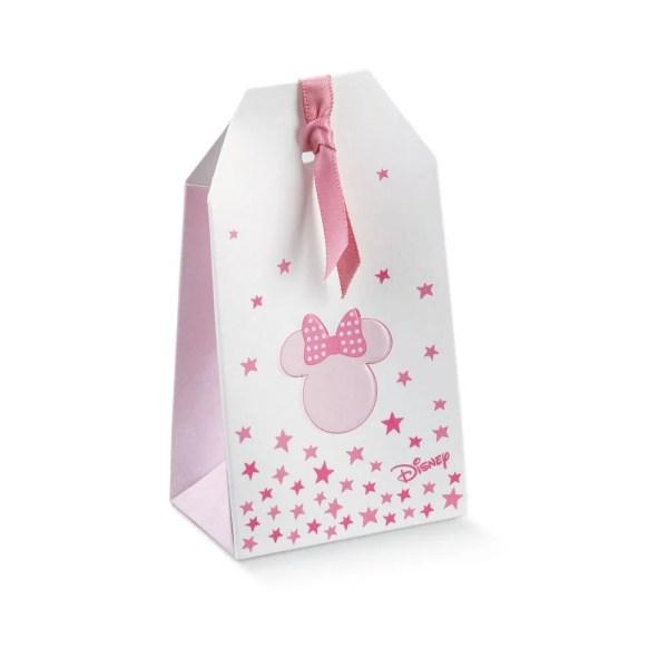 Scatola Portaconfetti Tag Minnie Stars Rosa 5,5 X 3,5 X 10 cm (10 PZ)-0