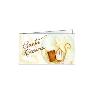 Bigliettino Bomboniera Cresima Color (Pz. 200)-0