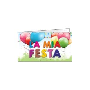 Bigliettino Bomboniera La Mia Festa (Pz. 200)-0
