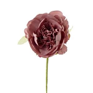 Decorazione bomboniera peonia rosa antico