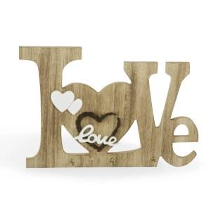 Appendino da cucina linea love in legno.-0