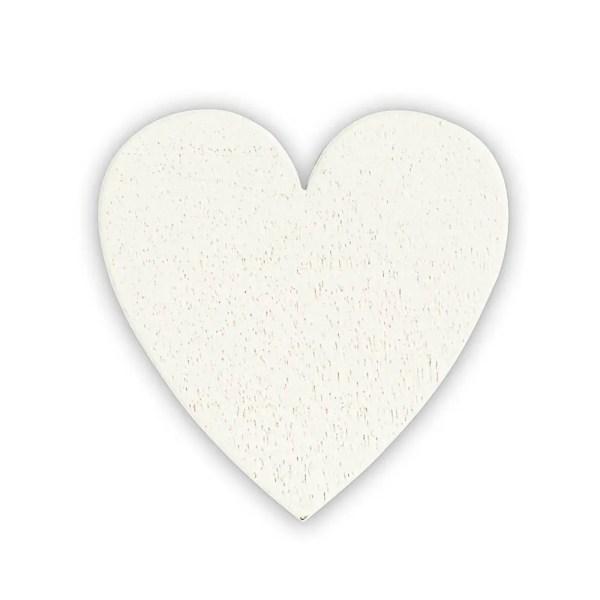 Applicazione cuore in legno per tutti gli eventi