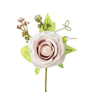 Applicazione bomboniera mazzetto rosa rosa antico