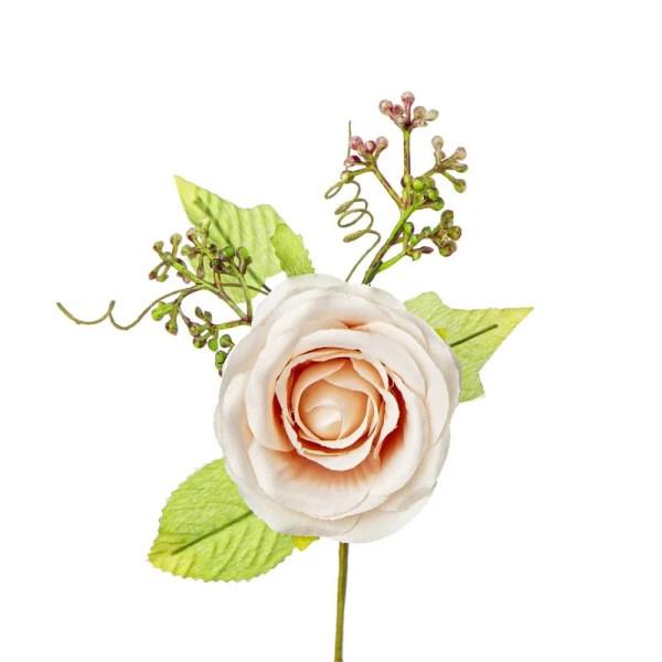 Bomboniera decorazione fiore mazzetto rosa cipria