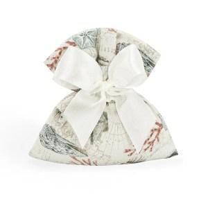 Bomboniera sacchetto medio portaconfetti linea mare