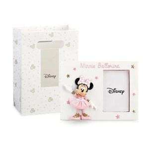 Bomboniera Minnie ballerina portafoto con shopper-0