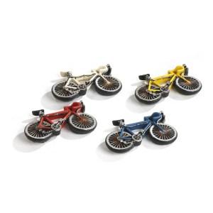 Bomboniera bici da corsa con magnete in resina 4 assortite