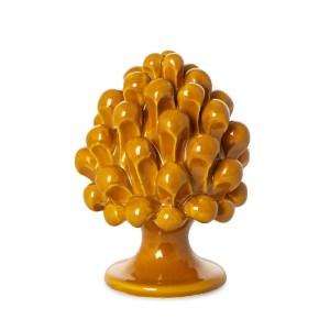 Bomboniera pigna arancio h. 10 cm -0