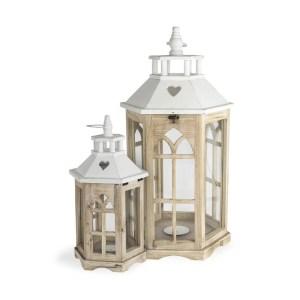 Set da due lanterne per allestimento sale ricevimenti-0