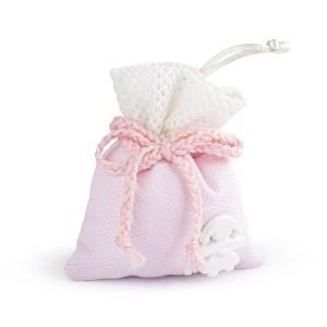 sacchetto bice rosa con gess.bimba