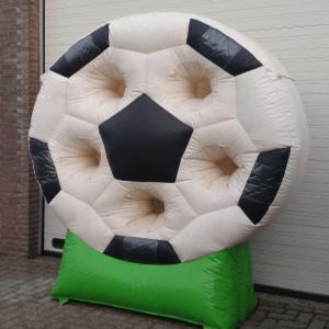 Voetbal doelschieten sport en spel