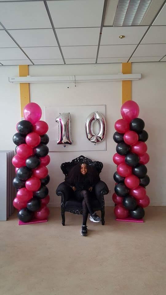 ballonnen pilaar