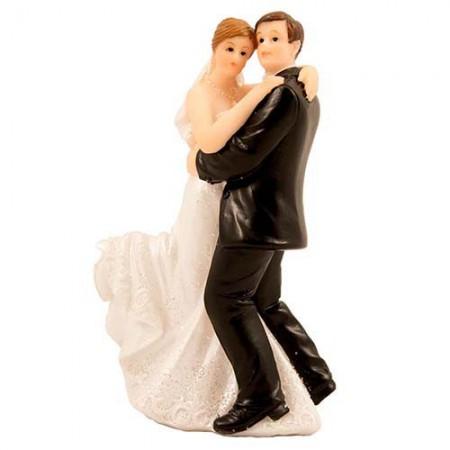 Figur Hochzeitspaar Tanzpaar 10cm Partydeko Hochzeit Hochzeit