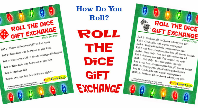 Gift Exchanges For Christmas