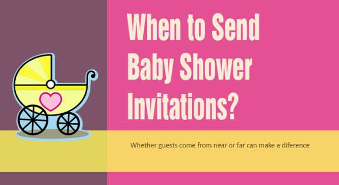 When Should You Send Out Baby Shower Invitations